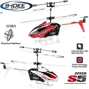 s-idee® 01164 - S5 3.5 Kanal Heli Syma Hubschrauber RC ferngesteuerter Hubschrauber/Helikopter/Heli